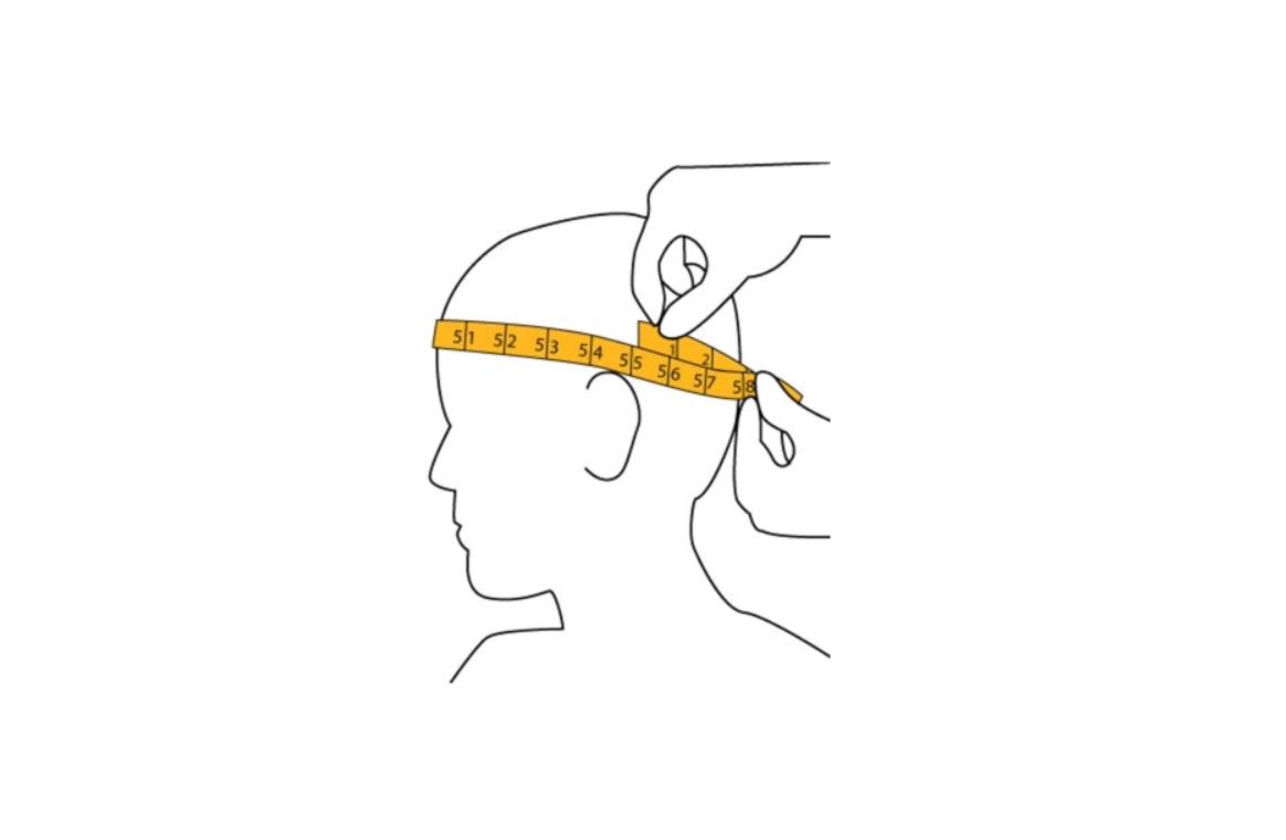 Comment mesurer son tour de tête ?